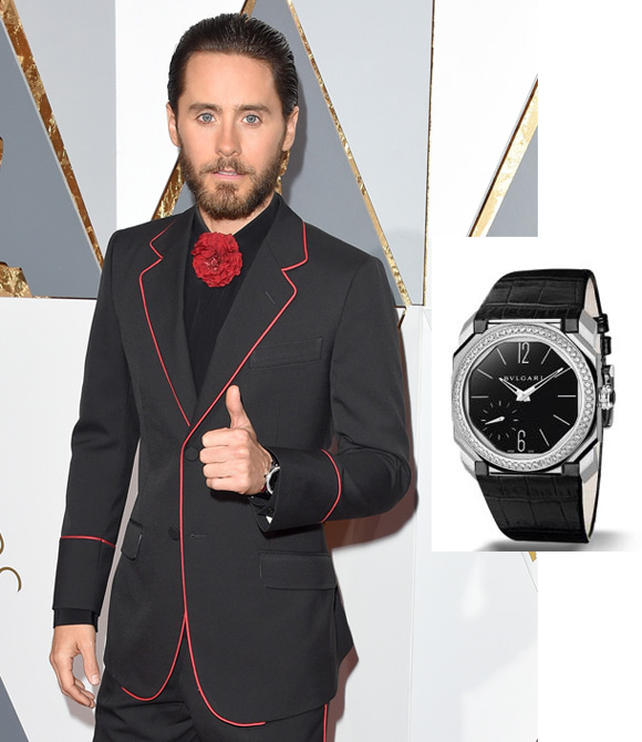 A lot of star wore the Bvlgari watches in 88th Annual Academy Awards