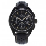 Alpiner 4 Black Flyback Manufacture Chronograph AL-760