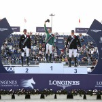 Abdullah Alsharbatly on Tobalio won the Longines Global Champions Tour Grand Prix of Shanghai 02