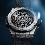 Front of Hublot Big Bang Sang Bleu
