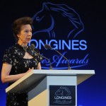 Princess Anne was awarded the Longines Ladies Award 03