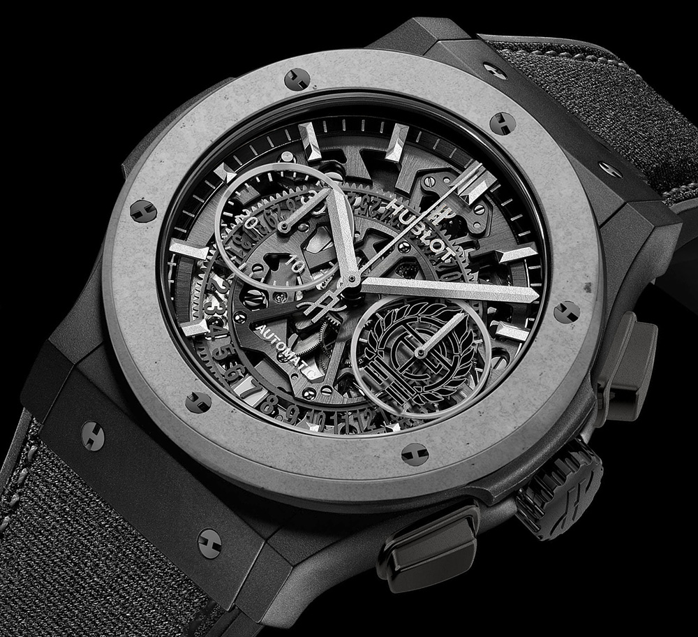 Hublot Classic Fusion Aerofusion Concrete Jungle Watch Watch Releases