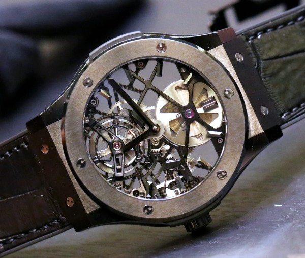 Hublot Classic Fusion Skeleton Tourbillon 45mm Watches Hands-On Hands-On