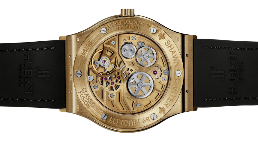 Shawn 'Jay Z' Carter's  Hublot Classic Fusion Timepieces Watch Releases