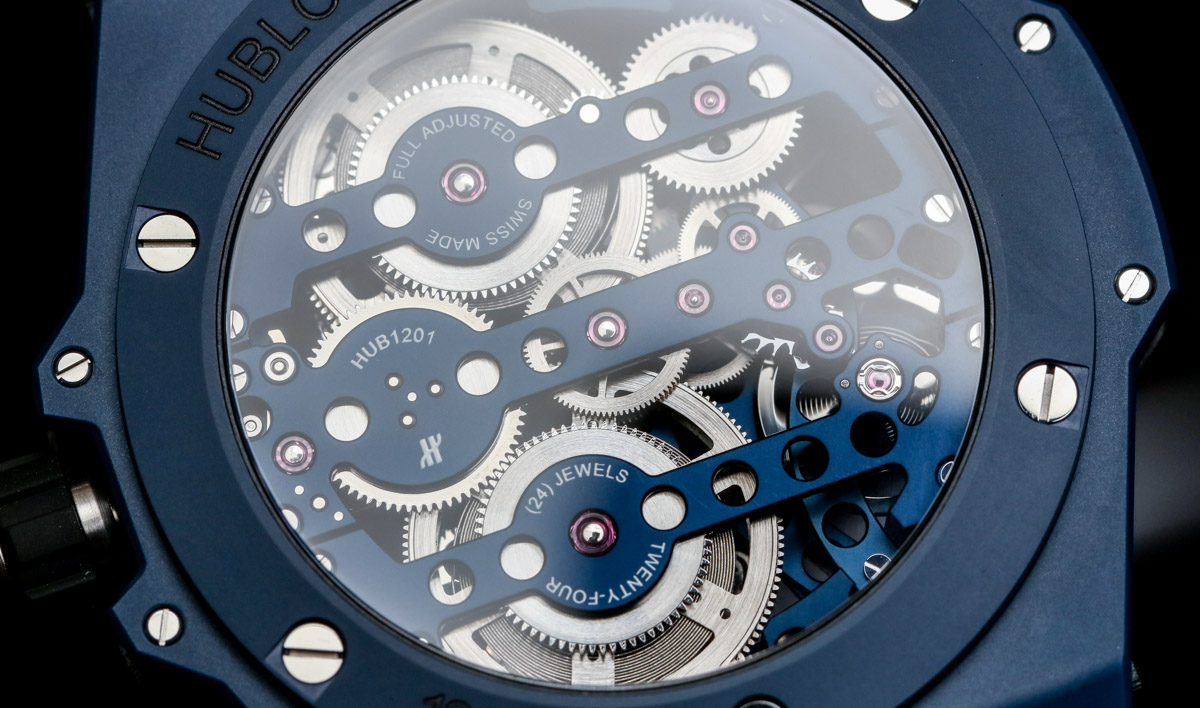 Hublot Meca-10 Ceramic Blue Hands-On & Why This Big Bang Is For Watch Movement Lovers Hands-On