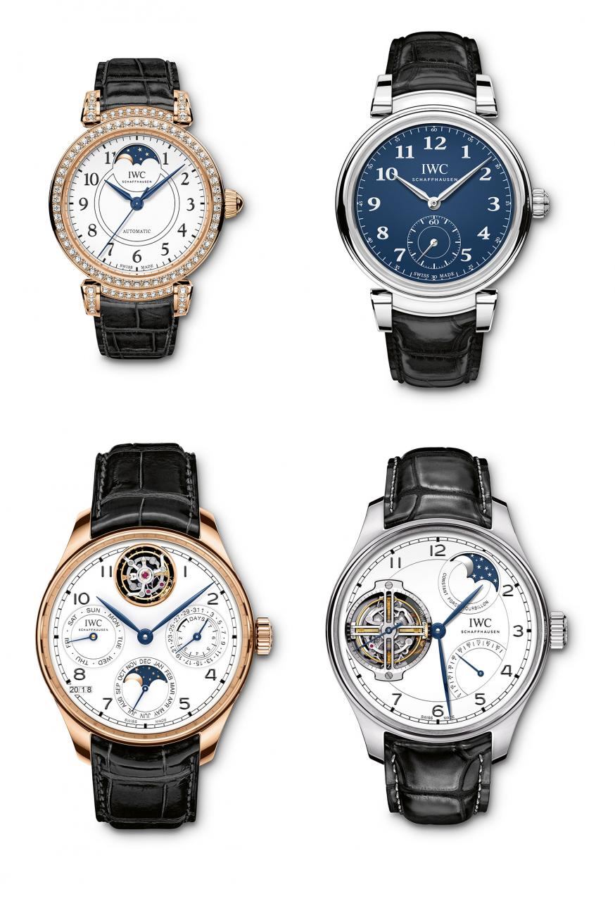 IWC 150th anniversary collection 2018