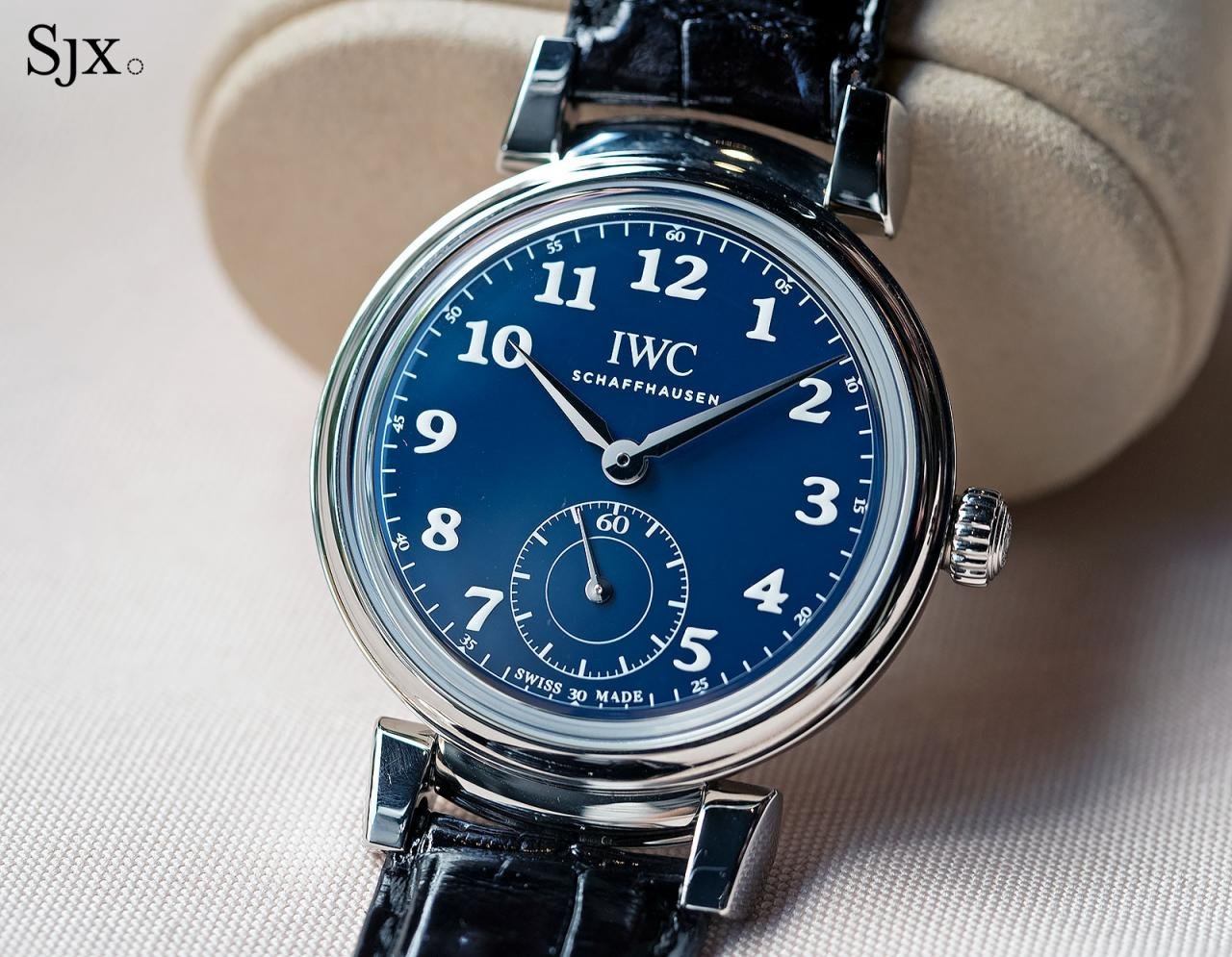 IWC Da Vinci Automatic 150 Years blue 1