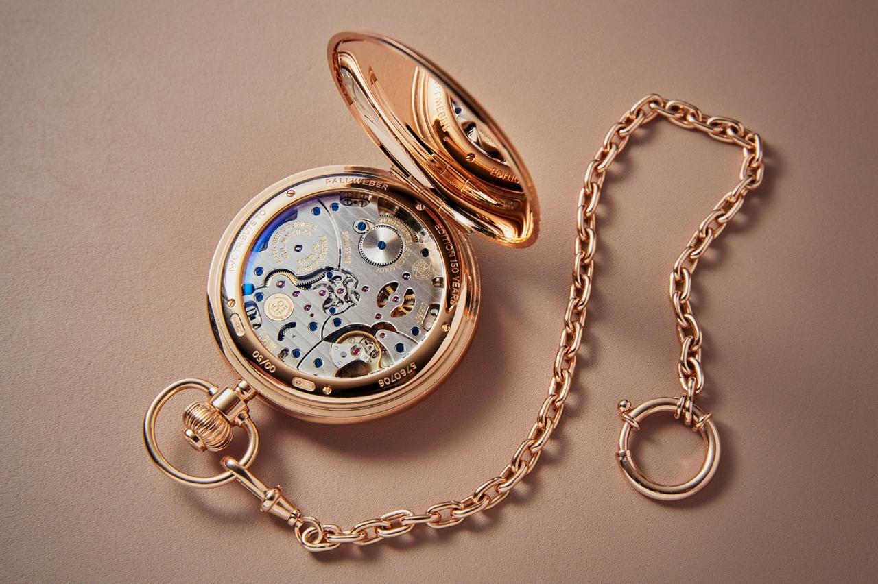 IWC Pallweber 150 Years Pocket Watch limited edition 2
