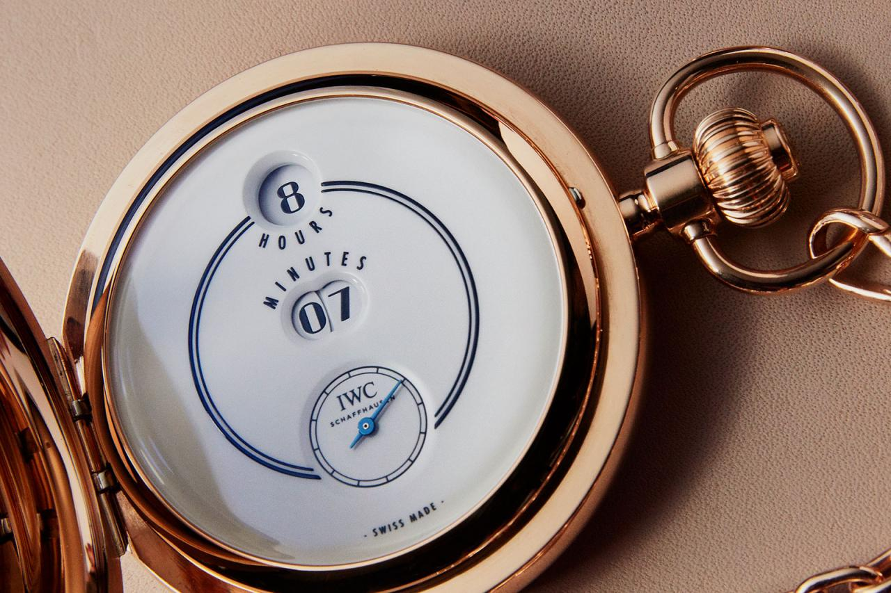 IWC Pallweber 150 Years Pocket Watch limited edition 4