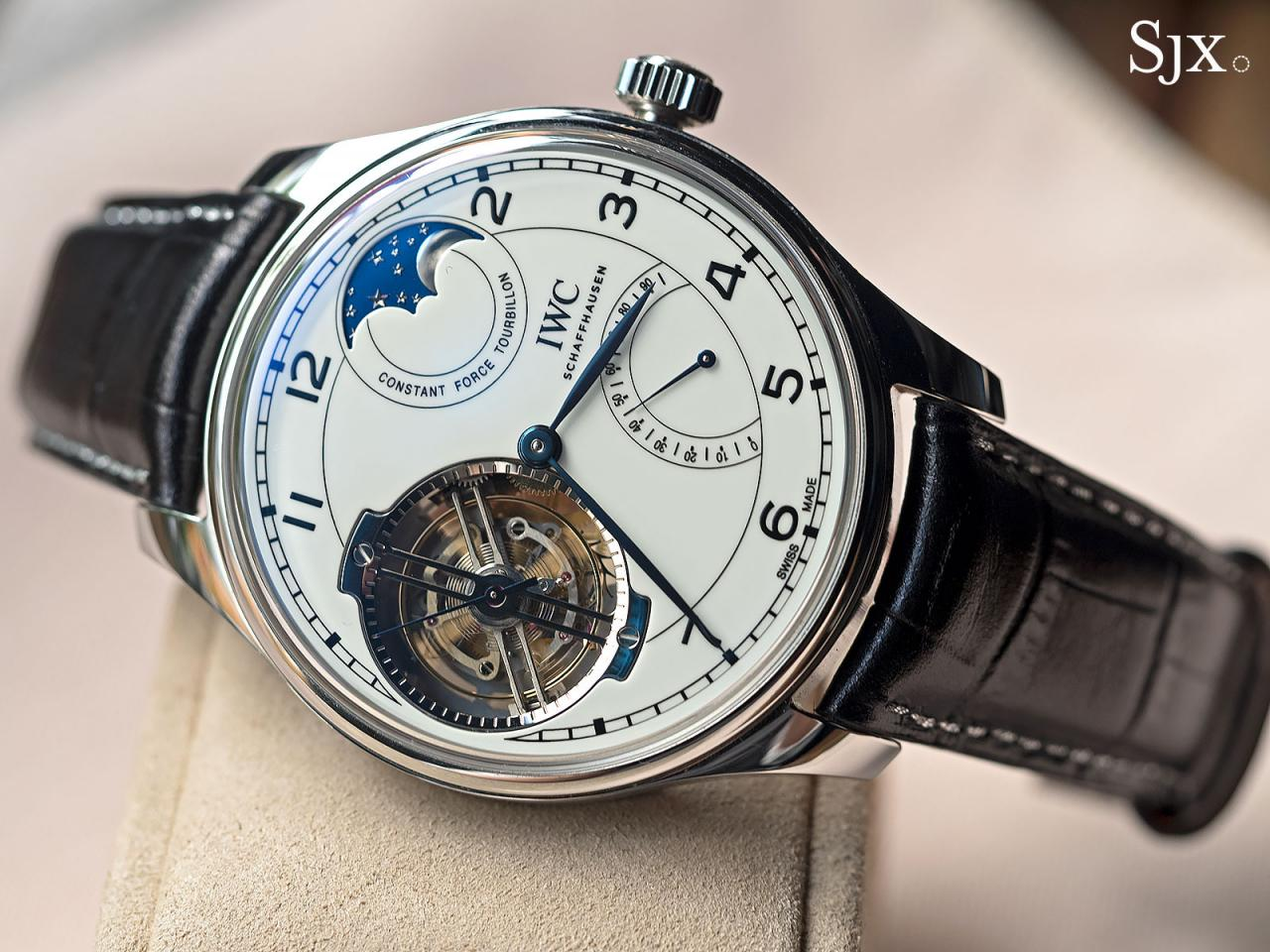 IWC Portugieser Constant-Force Tourbillon 150 Years white 1