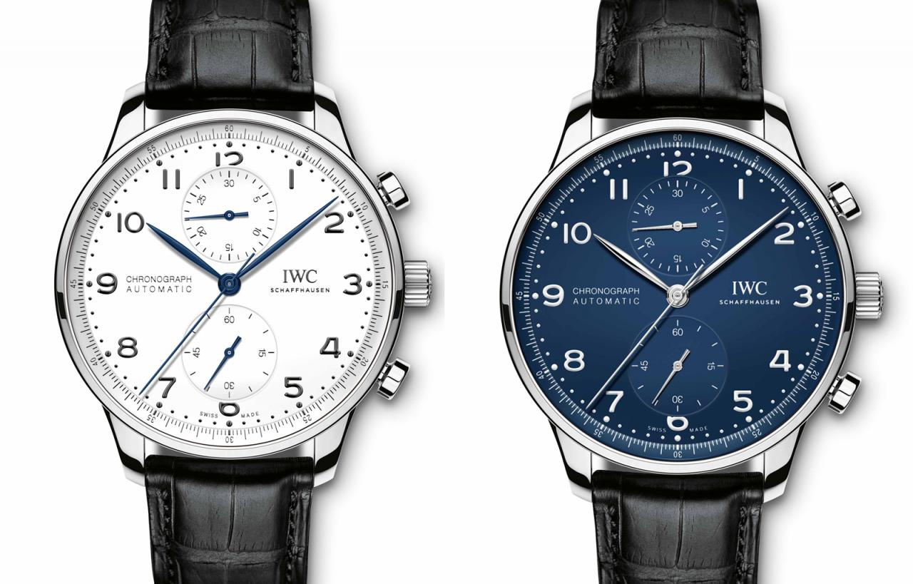 """The Portugieser Chronograph Edition """"150 Years"""