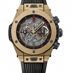 Front of Hublot Big Bang Unico full magic gold 02