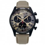 Front of Alpina Startimer Pilot Chronograph Grande Date