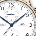 IWC Portugieser Chronograph 150 Years red gold 2
